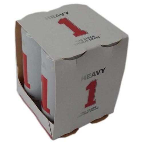 Heavy 1 Ernergy Drink 4er Pack